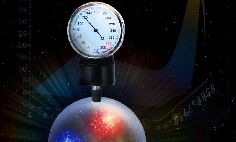 Quarks feel the pressure in the proton