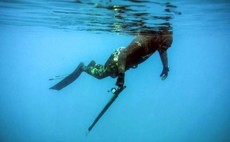 Rachid Zock and his fellow freedivers say that by promoting regulated spearfishing, they are also defending Lebanon's fast-deple