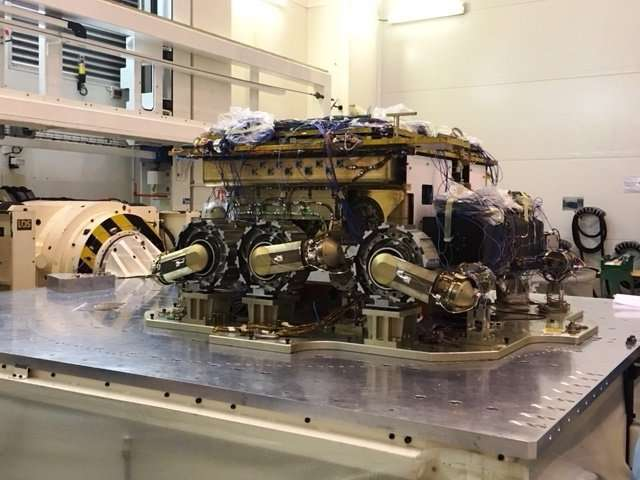 Red Planet rover set for extreme environment workout