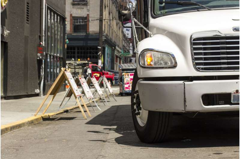 Reducing failed deliveries, truck parking time could improve downtown Seattle congestion, new report finds
