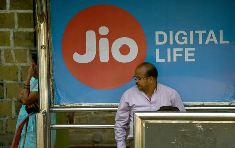 Reliance sparked a price war in India's telecoms market when it launched its Jio network in September 2016