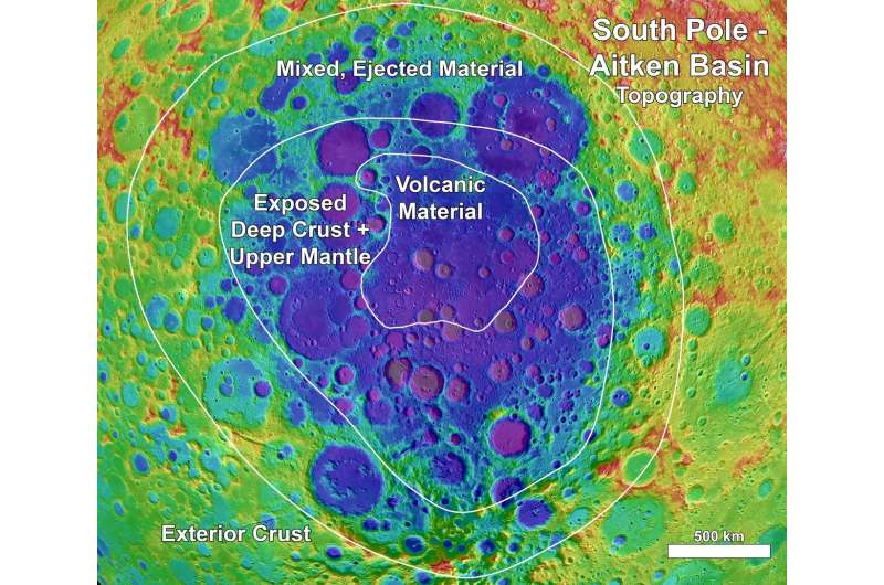 Research details mineralogy of potential lunar exploration site