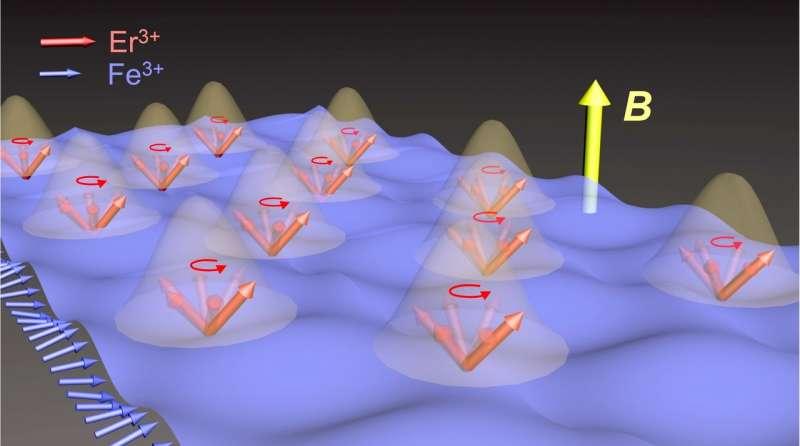 Rice U. lab finds evidence of matter-matter coupling