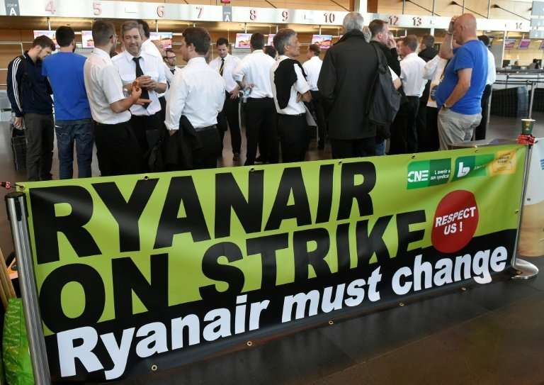 Ryanair is facing industrial action in several European countries