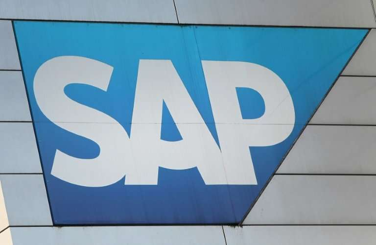 SAP hailed a lift-off in profits from January to March this year