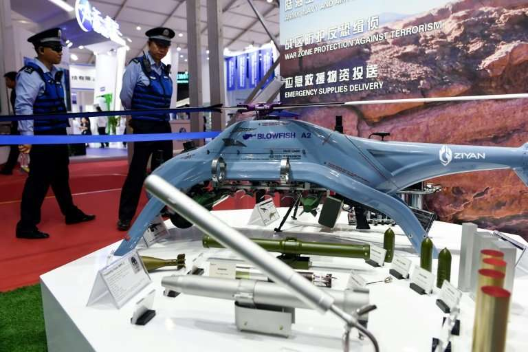 Saudi Arabia and Pakistan are in discussions to acquire the Chinese-made Blowfish A2 helicopter drone.