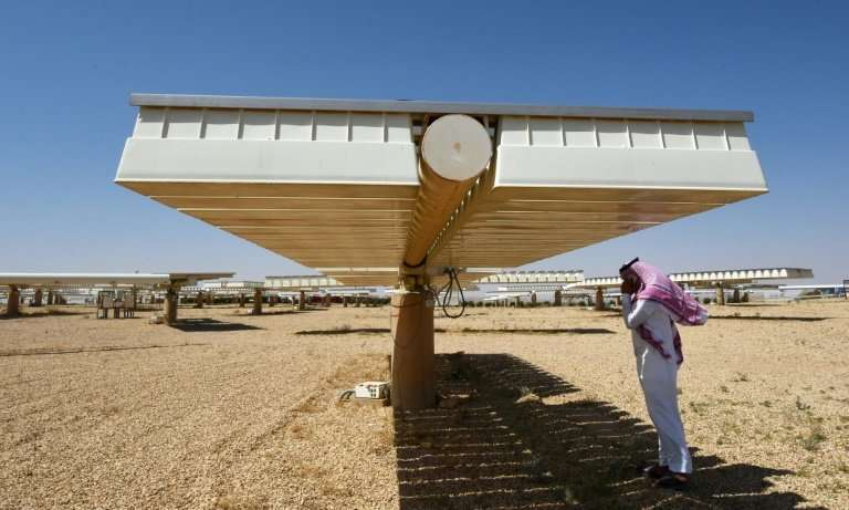 Saudi Crown Prince Mohammed bin Salman has unveiled plans to develop the globe's biggest solar power project for $200 billion in