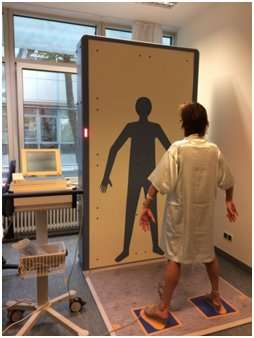 Security millimetre wave body scanner safe for patients with pacemakers and defibrillators