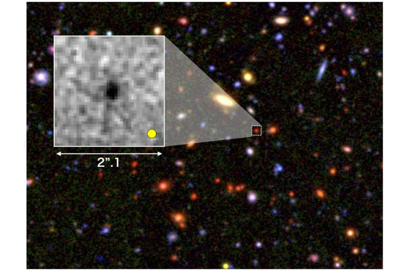 Seeds of giant galaxies formed in the early universe