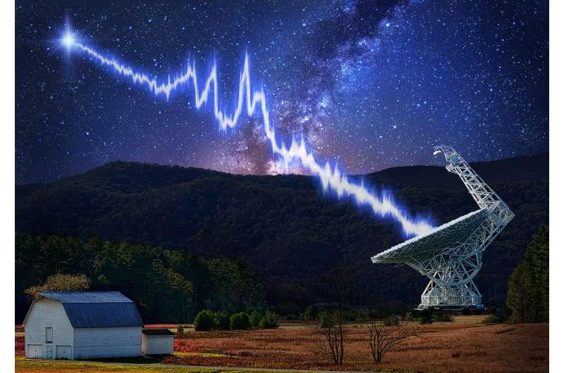 SETI project homes in on strange 'fast radio bursts'