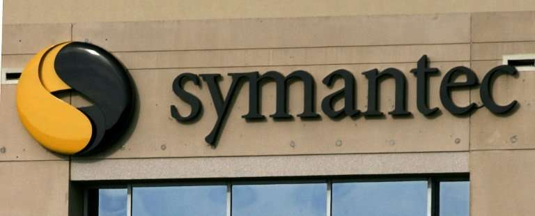Shares of Symantec closed the trading day up 9.6 percent to $21.40 ahead of top executives holding a telephone conference to dis