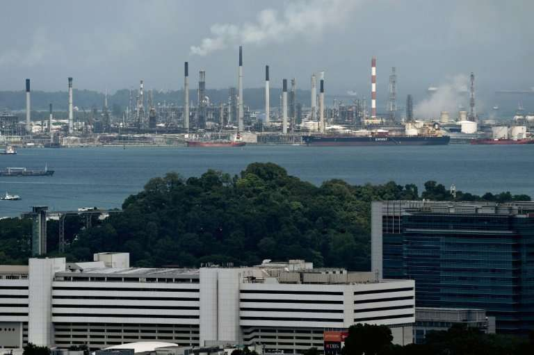 Singapore plans a carbon tax on facilities such as petrochemical plants