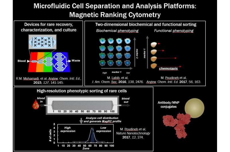 Single-cell mRNA cytometry via sequence-specific nanoparticle clustering and trapping