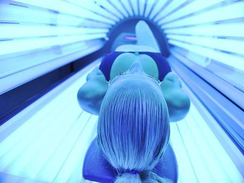 Skin cancer examinations more likely for indoor tanning users
