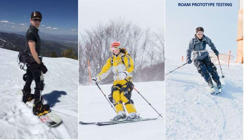 Ski-worthy exoskeleton set to enhance experience
