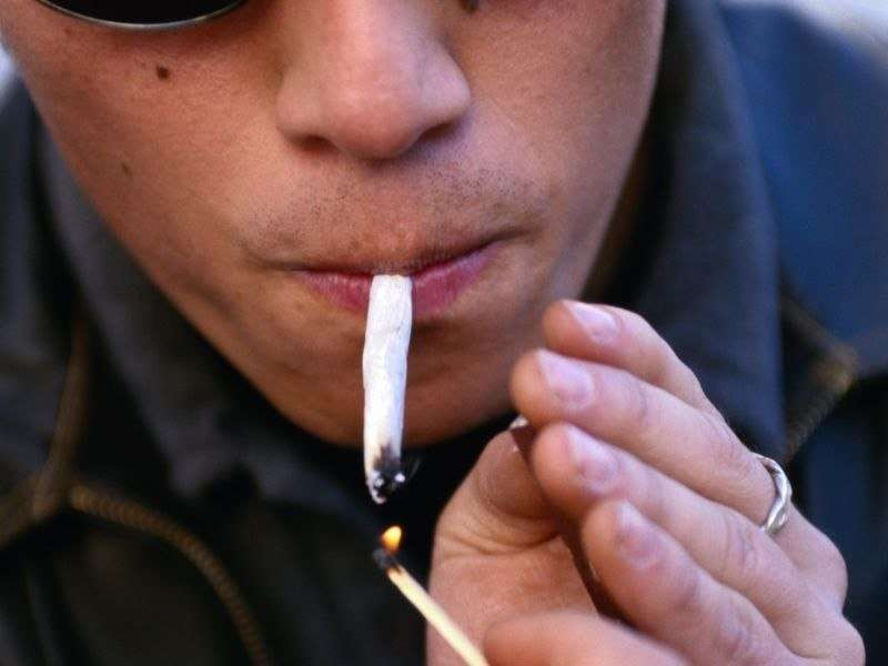 Smoking marijuana may be tied to cough, sputum production