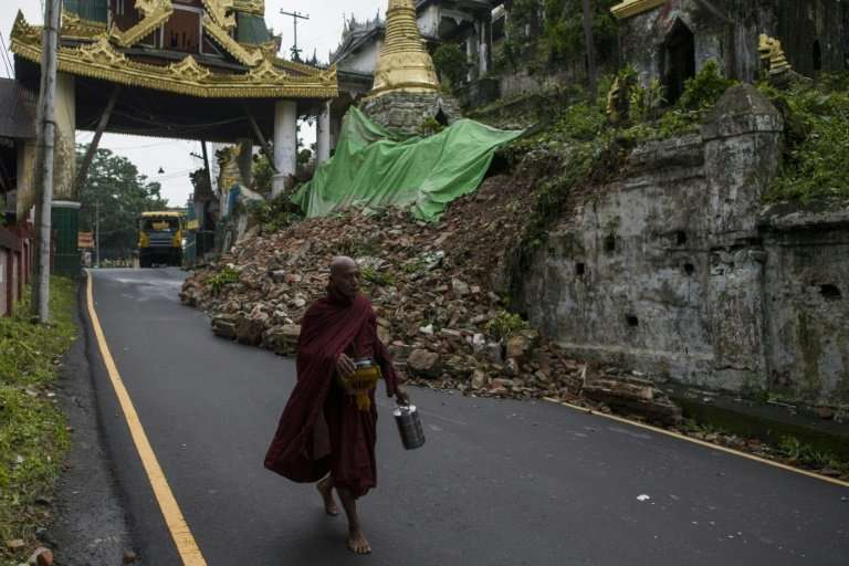 So far no casualties have been reported in Myanmar's south but rains continue to pound swathes of the country