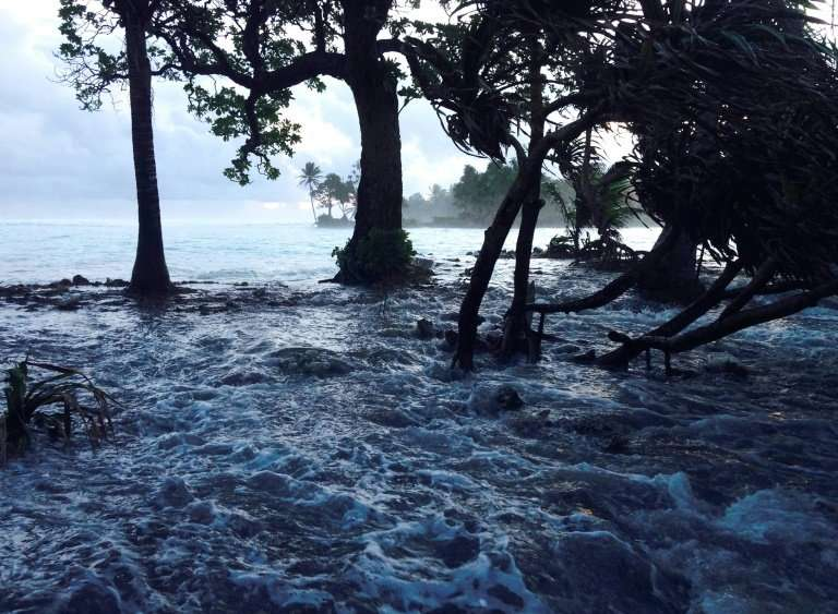 Some coutnries like Marshall Islands, which has endured worsening storm surges due to global warming, are at a higher risk of ri