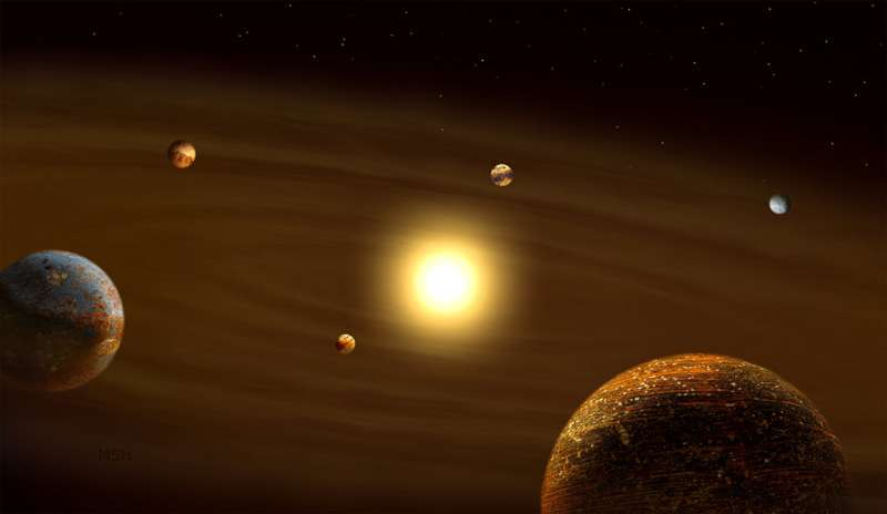 Some planetary systems just aren't into heavy metal