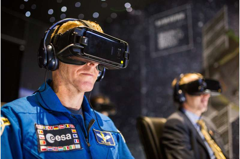 Space making the virtual a reality