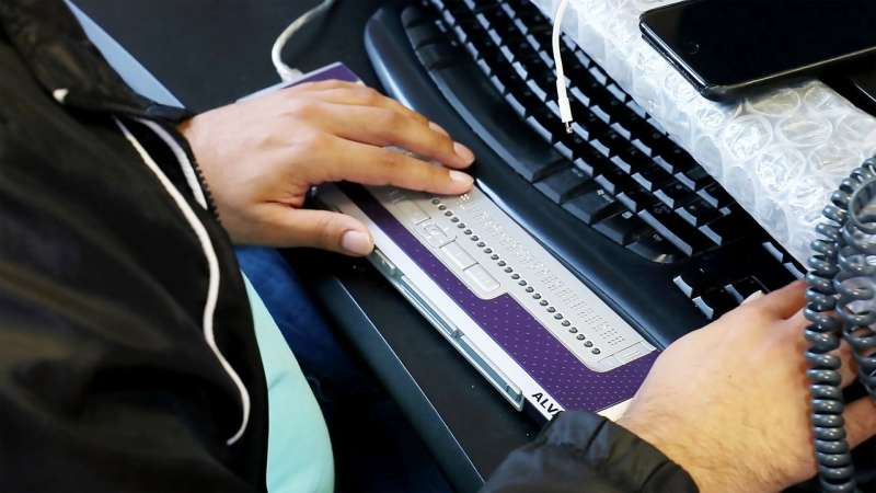 Standard announced for braille displays across different operating systems and hardware