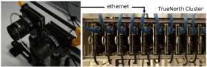 Stereo vision using computing architecture inspired by the brain