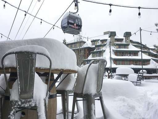 Storm leaves California with half of usual snow for year