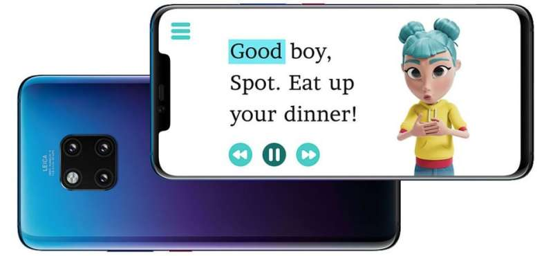 **StorySign app converts text in children's books to sign language