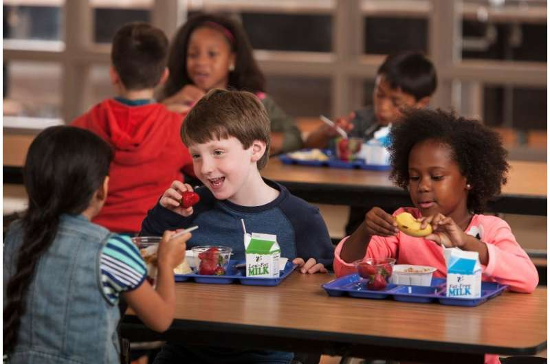 Students more likely to eat school breakfast when given extra time, new study finds