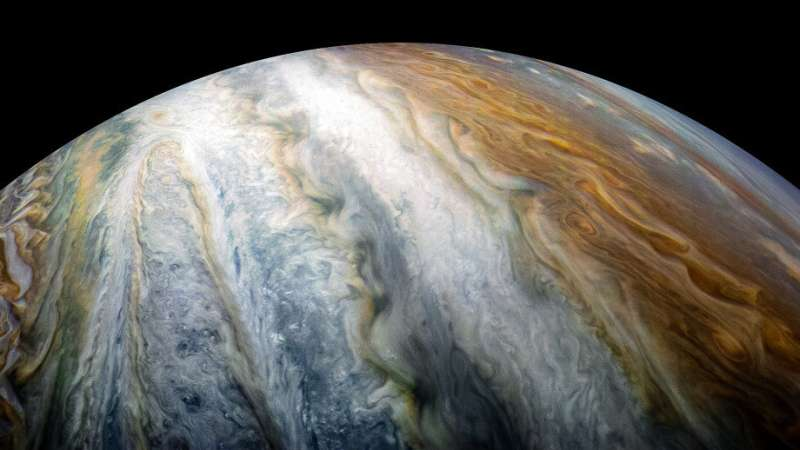 Study helps solve mystery under Jupiter's coloured bands