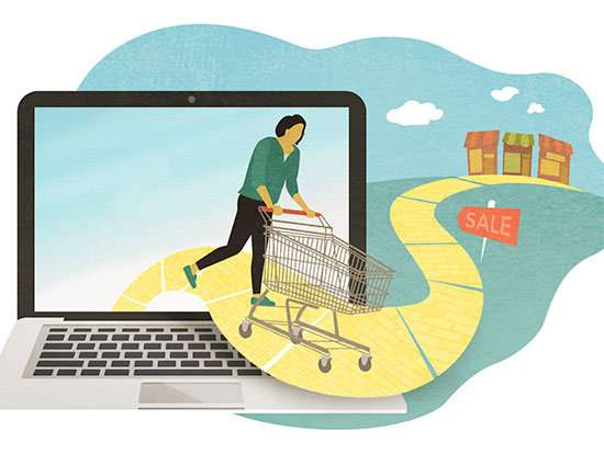 Study says community involvement may entice consumers to shop in-store