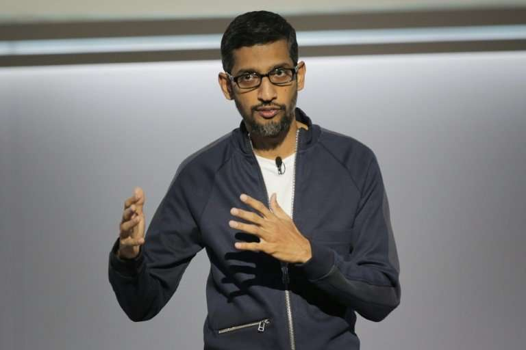 Sundar Pichai, chief executive officer of Google, said the US tech giant would avoid any artificial intelligence applications fo