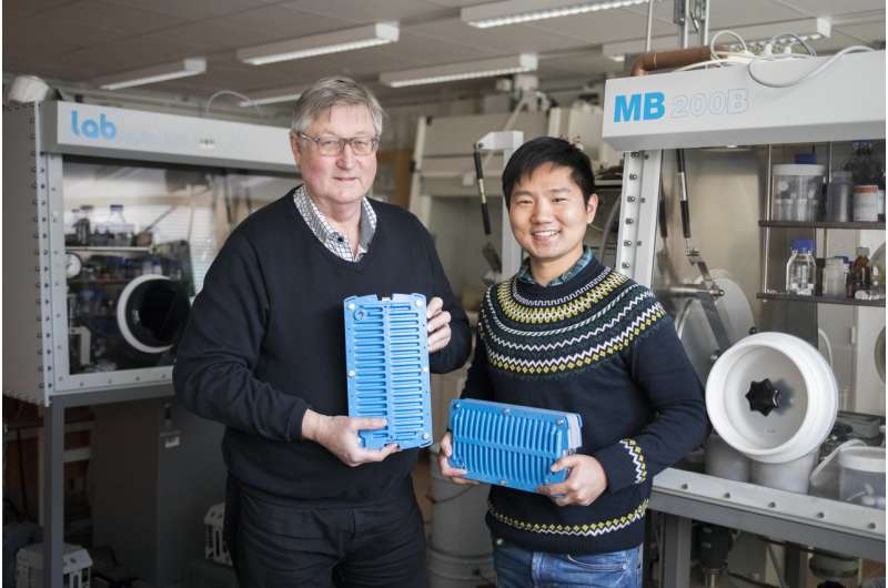 Swedish research multiplies the life of rechargeable NiMH batteries