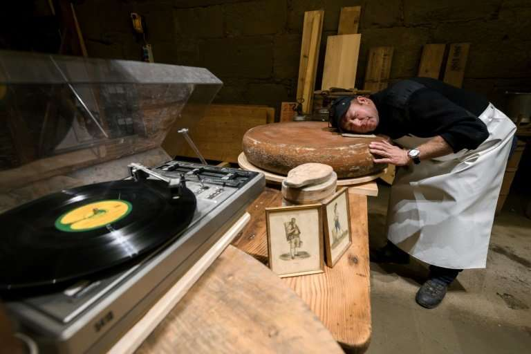 Swiss cheesemaker Beat Wampfler lets the music play in his experiment for a tastier Emmental, one of the most famous cheeses in