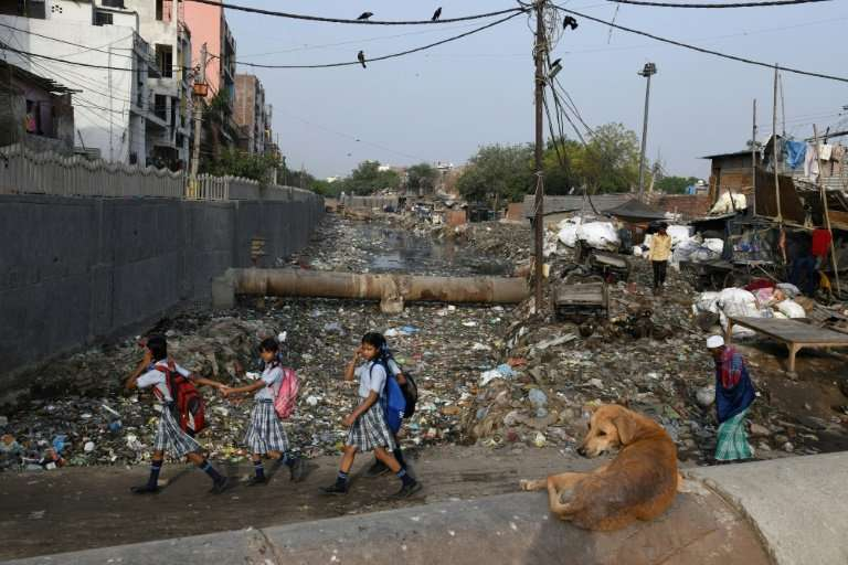 Taimur Nagar is one of many slums in Delhi and countless other Indian cities struggling to cope with waste