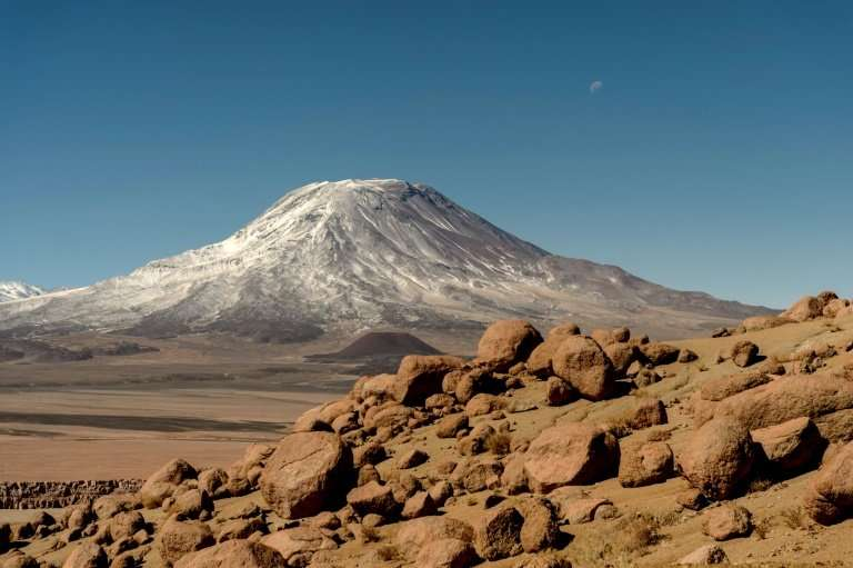Taira is located on an axis designated by four holy places, amongst them the San Pedro volcano