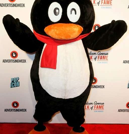 Tencent mascot QQ Penguin is a symbol of the Chinese tech giant, whose Tencent Music unit is making its Wall Street debut