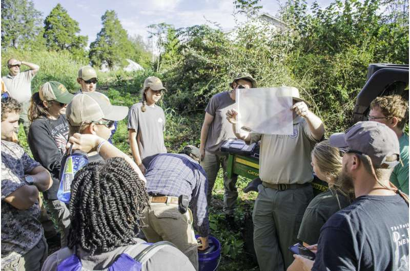 Tennessee program becomes first accredited wildlife and fisheries management concentration