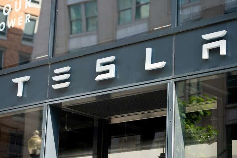 Tesla shares faced fresh pressure after news of the departure of the electric automaker's chief accounting officer and a bizarre