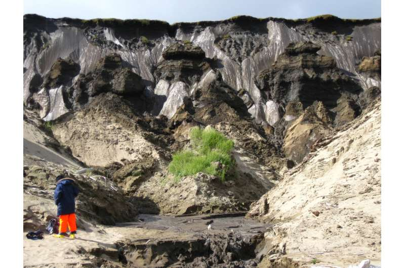 Thawing permafrost produces more methane than expected