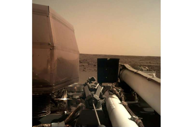 The $993 million InSight lander arrived at its target, a lava plain named Elysium Planitia, for a two-year mission aimed at bett