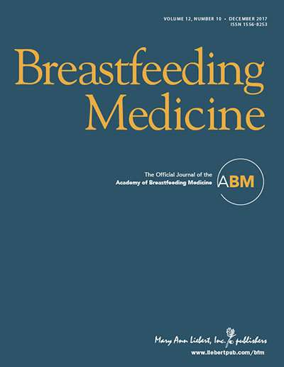 The Academy of Breastfeeding Medicine issues guidance on informal milk sharing