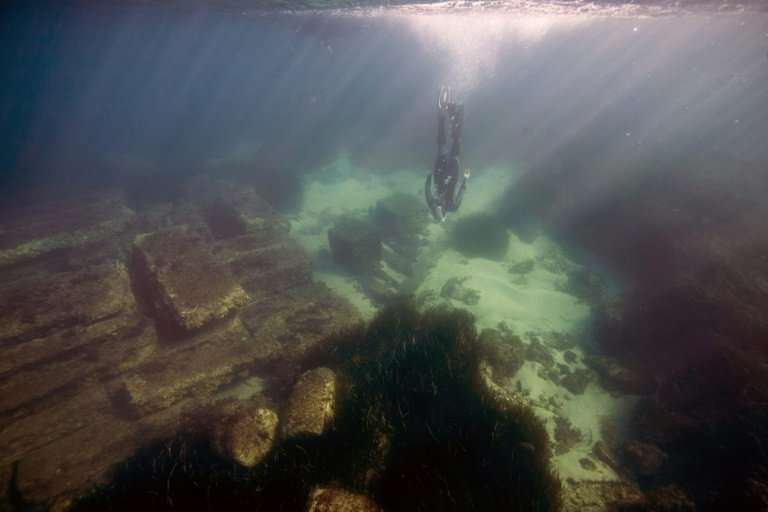 The ancient Roman city of Olbia fell victim to a slow rise in Mediterranean waters, but is still open for visits from explorers