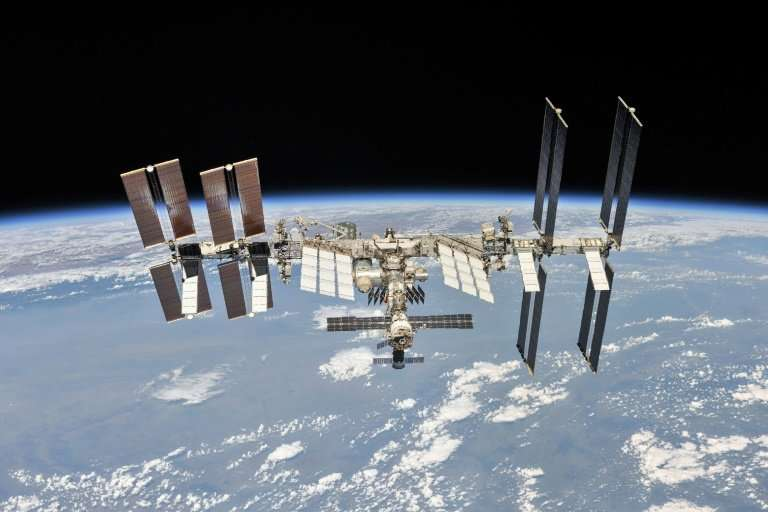 The astronauts are heading for a six-and-a-half month mission on the International Space Station