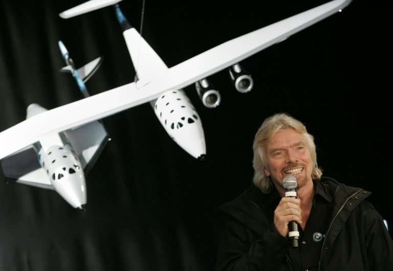 The billionaire entrepreneur said his Virgin Galactic was 'more than tantalisingly close' to launching its first mission to spac