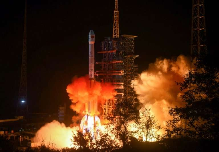 The Chang'e-4 lunar probe mission, named after the moon goddess in Chinese mythology, launched on a Long March 3B rocket from th