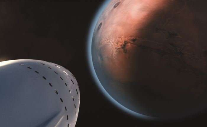 The first SpaceX BFR should make orbital launches by 2020