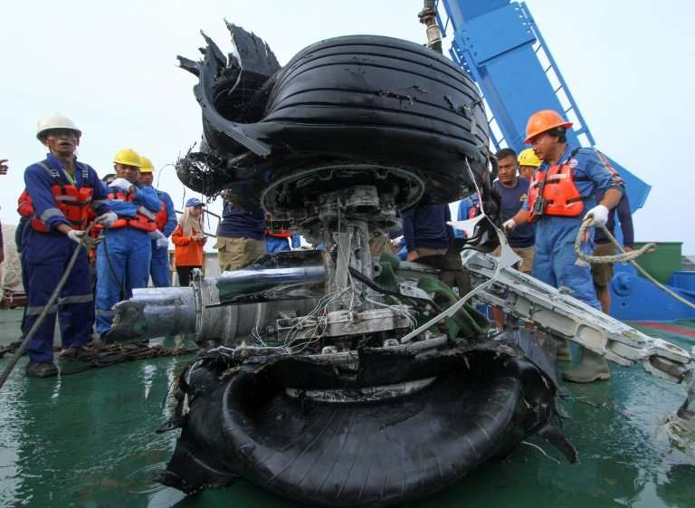 The ill-fated Lion Air 737 MAX plunged into the Java Sea less than half an hour after taking off