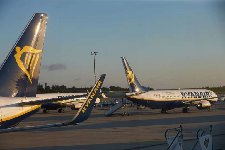 The Irish no-frills airline was forced to scrap some 400 out of 2,400 scheduled European flights as pilots in Ireland, Germany,