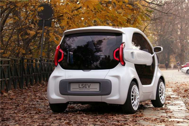 The LSEV: 3-D printing for automobiles on a bolder scale